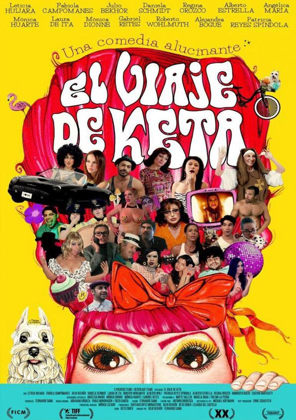 El Viaje de Keta Poster